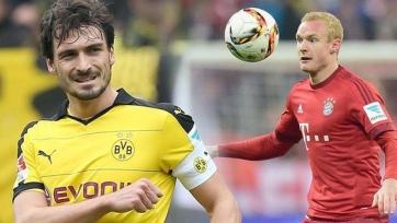 Дортмундская «Боруссия» и «Бавария» могут обменяться игроками