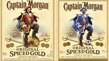 Captain Morgan выпустит специальную серию бутылок с изображением Уэса Моргана