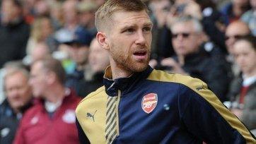 Мертезакер не поможет «Арсеналу» на финише сезона