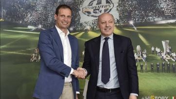 Официально: Аллегри продлил контракт с «Юве» до лета 2018-го года