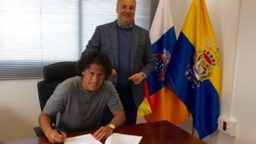 Маурисио Лемос стал игроком «Лас-Пальмаса»
