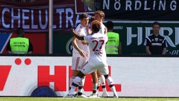 «Бавария» выиграла чемпионат Германии. Результаты матчей предпоследнего тура Бундеслиги