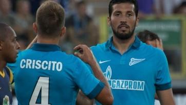 Гарай, Жирков и Кришито не помогут «Зениту» в матче с «Мордовией»