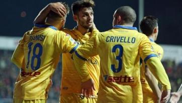 «Фрозиноне» проиграл «Сассуоло» и вылетел из Серии А, а также другие результаты матчей итальянского первенства
