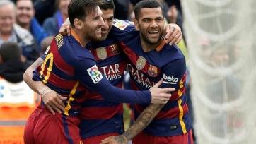 «Барселона» на сей раз разгромила «Эспаньол»