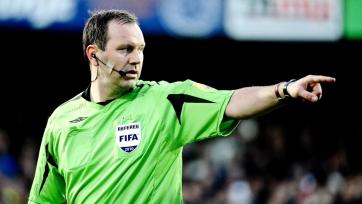 Юнас Эрикссон обслужит финальный матч Лиги Европы