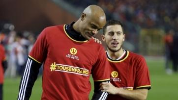 Эден Азар будет капитаном бельгийской сборной на Евро-2016