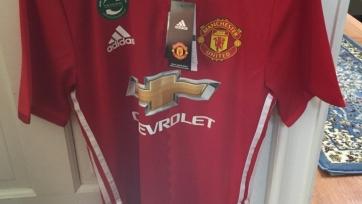 В Сети появился неофициальный вариант футболки «Манчестер Юнайтед» 2016/2017