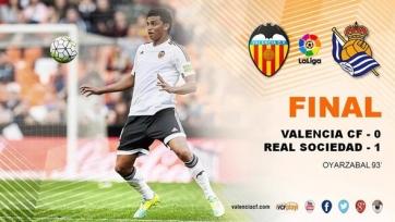 «Валенсия» проиграла «Реал Сосьедаду»
