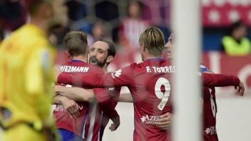 Мадридский «Атлетико» обыграл в домашнем матче «Сельту»