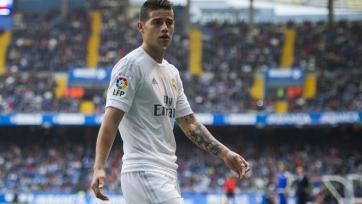 «Реал» предлагает «МЮ» купить Хамеса Родригеса
