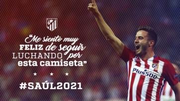 Сауль подписал новый контракт с «Атлетико»