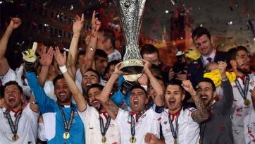 «Севилья» в третий раз кряду выиграла Лигу Европы!