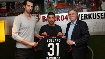 Официально: Фолланд – игрок «Байера»