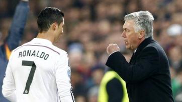 Карло Анчелотти: «Роналду тренировался до поздней ночи, даже если дома его ждала Ирина Шейк»