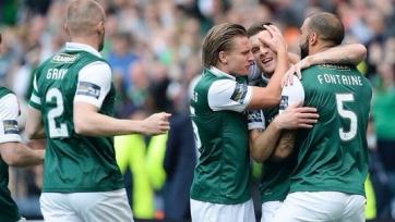 «Хиберниан» вырвал победу в Кубке Шотландии