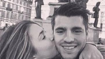 Альваро Мората посвятил гол в ворота «Милана» своей новой невесте