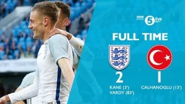 Англичане добились победы в матче с турками