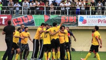 «Алашкерт» выиграл чемпионат Армении в первый раз в своей истории