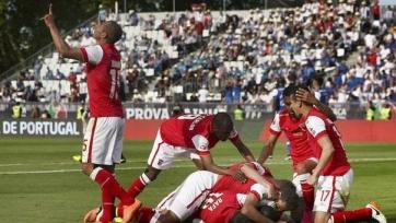«Брага» переиграла «Порту» в финале Кубка Португалии