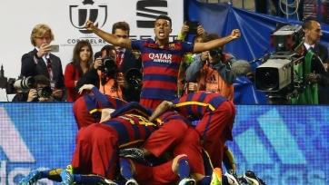 «Барселона» одержала победу над «Севильей», выиграв Кубок Испании