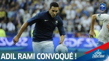 Варан не сыграет на Евро, вместо него в сборную Франции вызван Адиль Рами