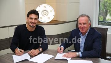 Хуммельс подписал соглашение с «Баварией»