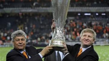 Ахметов поблагодарил Луческу и всю его команду за сотрудничество
