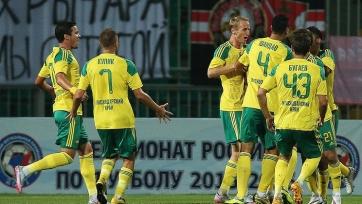 «Кубань» обыграла в домашнем матче «Томь»