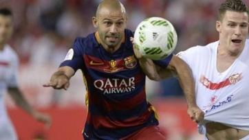«Ювентус» пытается переманить из «Барселоны» Маскерано