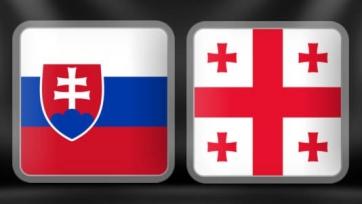 Словаки оказались сильнее грузин