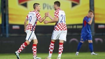 Сборная Хорватии с минимальным счётом обыграла молдаван