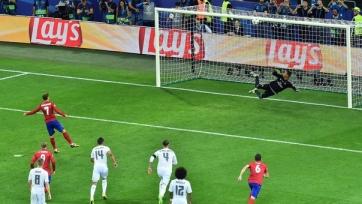 Гризманн стал четвёртым игроком, не забившим пенальти в финале ЛЧ
