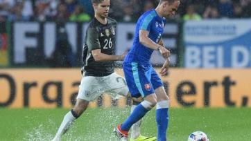 Немцы на родной земле уступили сборной Словакии