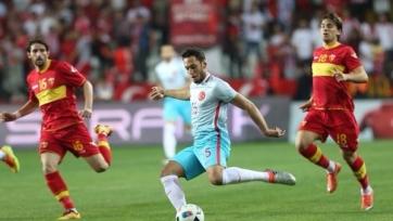 Турки забили черногорцам на последней минуте