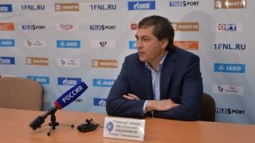 Евдокимов: «Задача на следующий сезон – сохранить прописку в РФПЛ»