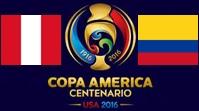 Перу - Колумбия Обзор Матча (18.06.2016)