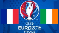 Франция - Ирландия Обзор Матча (26.06.2016)