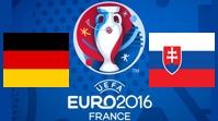 Германия - Словакия Обзор Матча (26.06.2016)