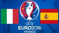 Италия - Испания Обзор Матча (27.06.2016)