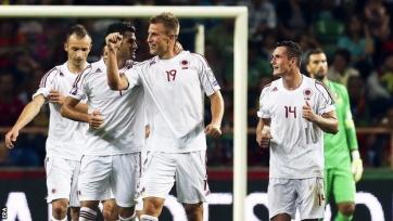Албанцы определились с окончательной заявкой на Евро
