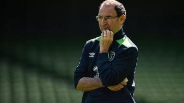 О'Нил составил окончательную заявку ирландской сборной на Евро