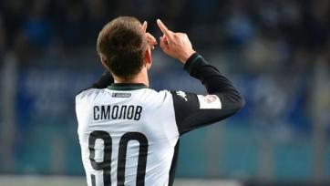 Смолов признан лучшим игроком сезона в РФПЛ по версии тренеров