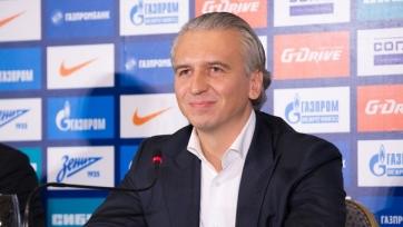 Дюков: «Надеемся, что приход Луческу поможет сделать «Зениту» ещё один шаг вперёд в своём развитии»
