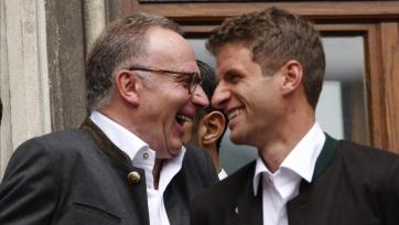 Румменигге: «МЮ» был готов выложить за Мюллера рекордную сумму»