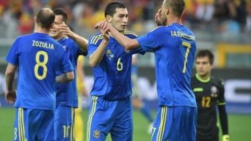 Сборная Украины обыграла албанцев