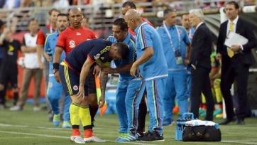 Родригес получил травму в матче за сборную