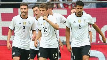 Немцы переиграли венгров