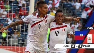 Перу одержал минимальную победу в матче с Гаити