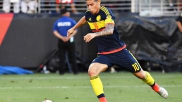 Хамес, скорее всего, пропустит игру с Парагваем